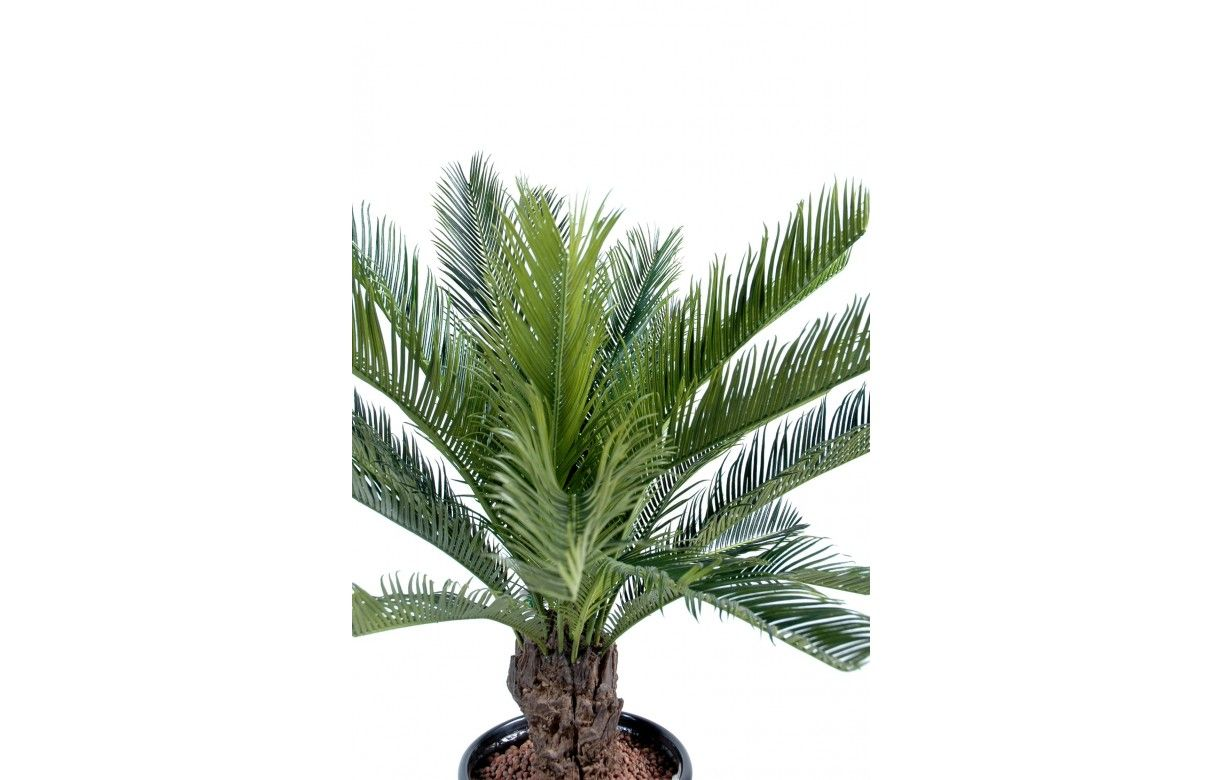 Plante artificielle tropicale palmier cycas 90 cm decome for Plante 90 cm