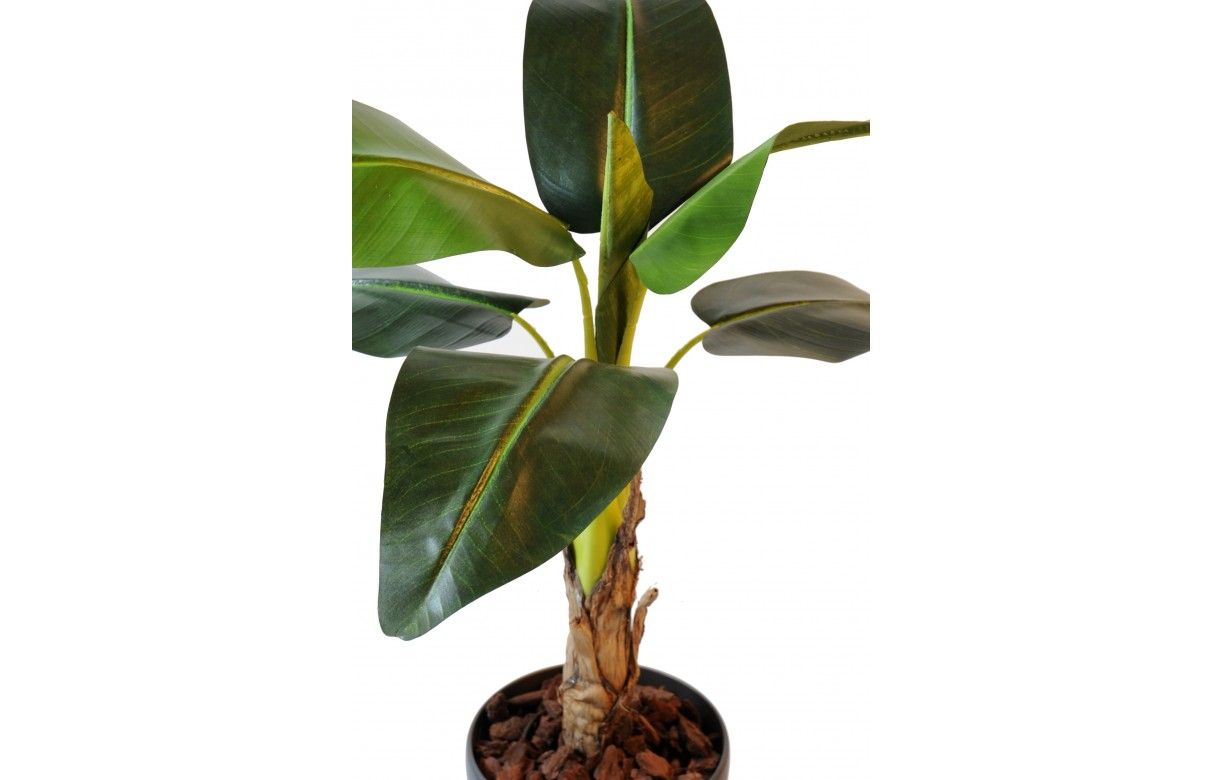 Plante artificielle tropicale bananier 105 cm decome store for Plantes artificielles rennes