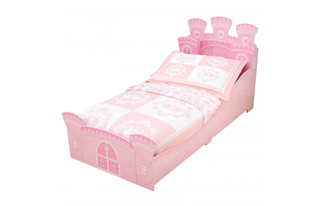 lit enfant chateau de princesse rose kidkraft 76261. Black Bedroom Furniture Sets. Home Design Ideas