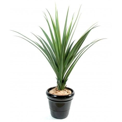 Plante verte artificielle d'extérieur Pandanus 95 ou 140 cm -