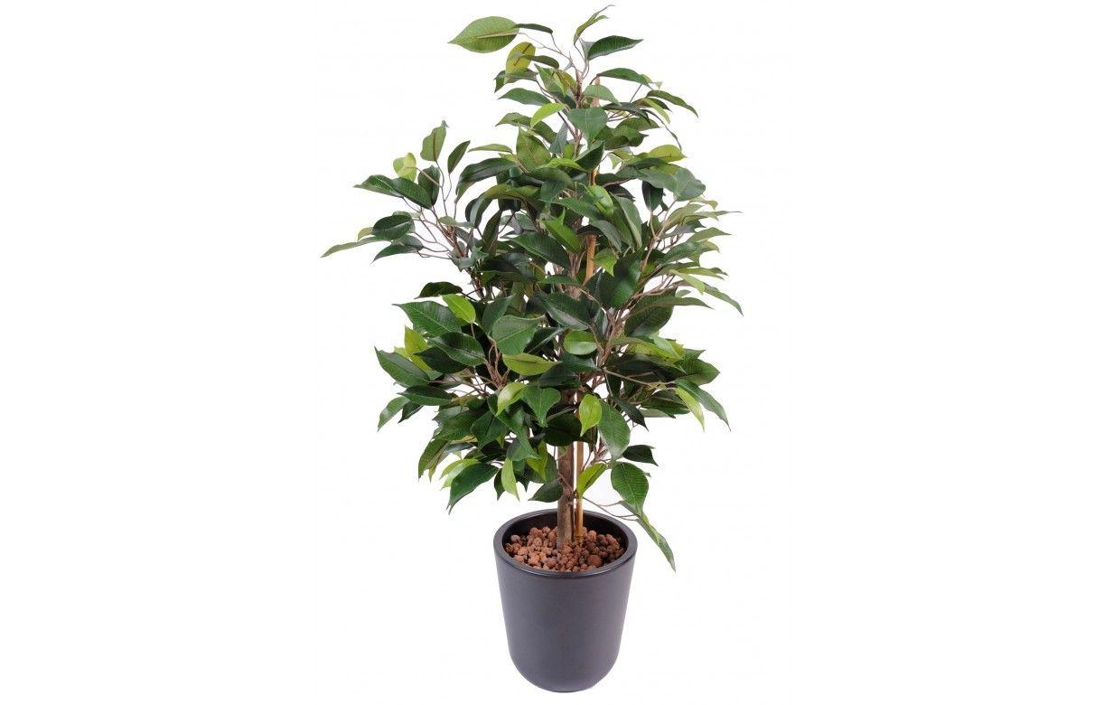 plante artificielle ficus tropical 60 cm decome store. Black Bedroom Furniture Sets. Home Design Ideas