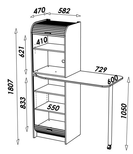 Dimensions colonne