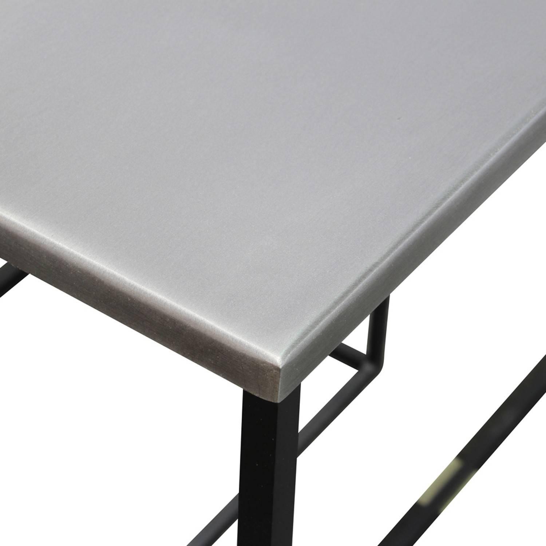 Console métal zinc