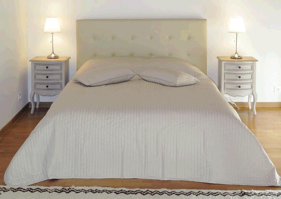 Photo de la tête de lit Luxy en situation