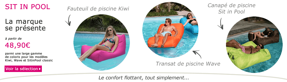 Poufs de piscine Sit in Pool